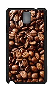 Coffee Beans PC Case and Cover for Samsung Galaxy Note 3 Note III N9000 Black
