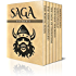 Saga Six Pack 2 - Poetic Edda, The Nibelungenlied, Saga of Thorstein, Fridthjof the Bold, Ingolf's Saga and King Harald's Saga (Illustrated)