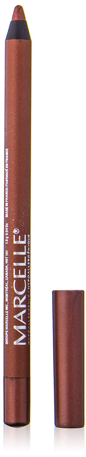 Marcelle Velvet Gel Waterproof Eyeliner, Blue Sapphire, Hypoallergenic and Fragrance-Free, 1.3 g