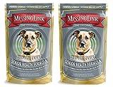 The Missing Link The Original Ultimate Canine Senior Health Formula Supplement - 1LB (2Pack)