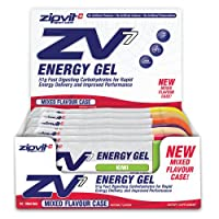 ZV7 Energy Gel, Mixed Case, Box of 24 x 60ml