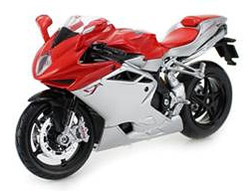 2012 MV Agusta F4 Red/Silver Bike 1/12 Motorcycle by for sale  Delivered anywhere in Canada