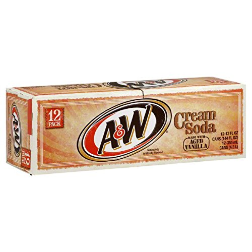 (A&W Cream Soda 12 Oz (Pack of 12))