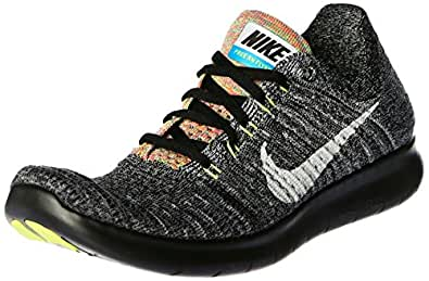Amazon.com | NIKE Free RN Flyknit RUNNING SHOES, SNEAKERS