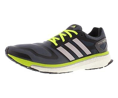 adidas energia impulso mens scarpe da corsa onyx / giallo / bianco 14 d (m) us
