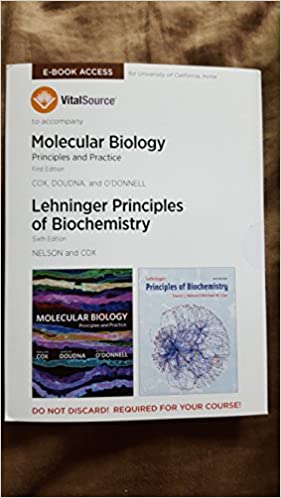 Molecular biology principles and practice 1st edition and biological molecular biology principles and practice 1st edition and biological sciences molecular biology combination of 2 ebooks doudna and odonnell cox fandeluxe Choice Image
