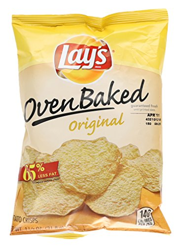 Lay's Oven Baked Potato Crisps, Original, 1.125 oz