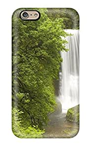 High Grade Charles C Lee Flexible Tpu Case For Iphone 6 - Earth Waterfall