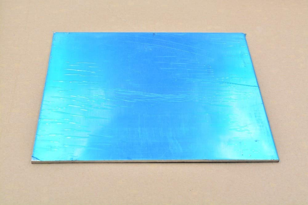 NJPOWER 6061 Aluminum Plate Aluminium Sheet 390mmx390mm Thickness 3mm 390x390x3 Aluminum Alloy DIY 1pcs