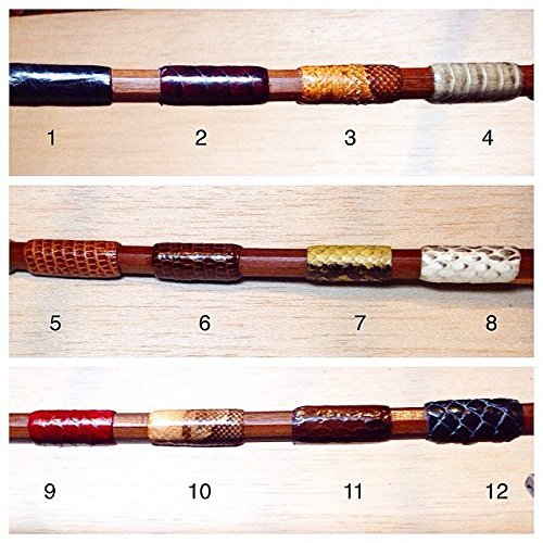 Leather Skin Piece - Thumb Grip Piece of Leather Violin Viola Cello Bow Snake Skin By Lsalazar Luthier