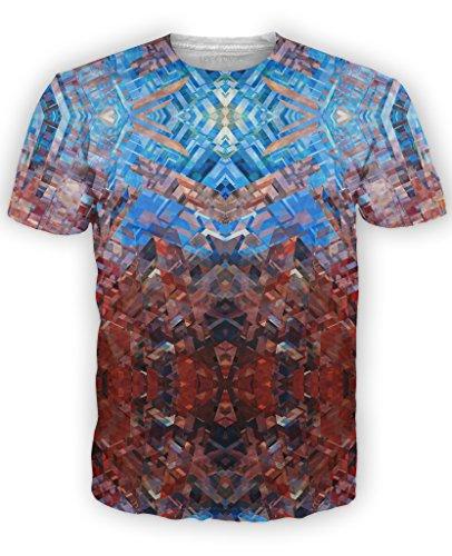 RageOn Men's Facet T-Shirt XL Multi