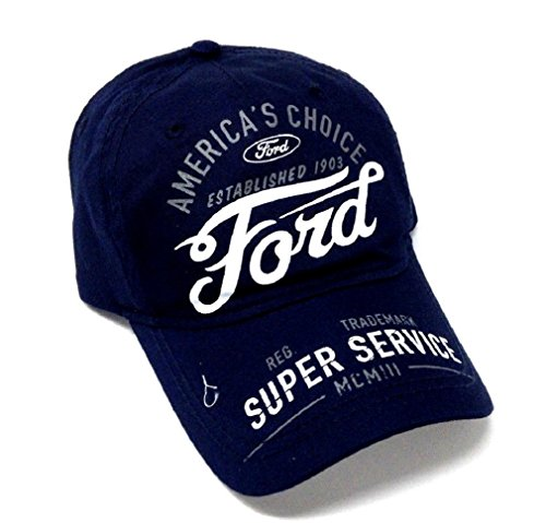 Ford Motors Text Logo Americas Choice Adjustable Hat