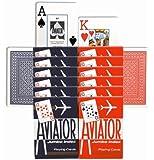 12 Aviator Decks - Jumbo Index