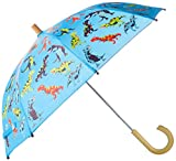 Hatley Little Boys' Printed Umbrella, Roaring T-Rex, O/S