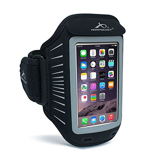 Arm Pocket (Armpocket Racer armband for iPhone SE, 6s/6/7 or Samsung Galaxy S6/5/4)