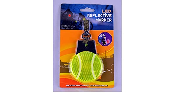 Clip-On Tennis Ball LED Reflective Marker