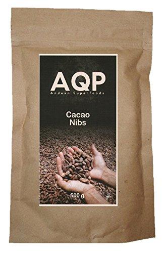 Nibs de Cacao (500g), Esencia Natural del Chocolate - Sin Azúcares Añadidos - Producto Vegano, 100% Natural de la Amazonía Peruana