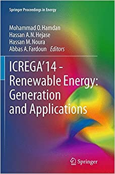 Book ICREGA'14 - Renewable Energy: Generation and Applications (Springer Proceedings in Energy)