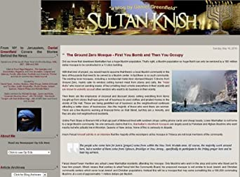 (Sultan Knish) Articles by Daniel Greenfield