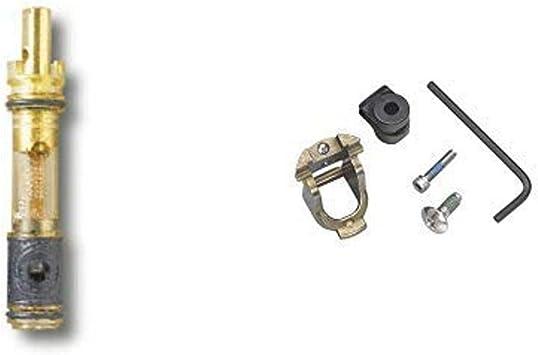 Amazon Com Moen 1225 One Handle Bathroom Faucet Cartridge Replacement Brass With Moen 100429 Single Handle Faucet Adapter Kit Home Improvement