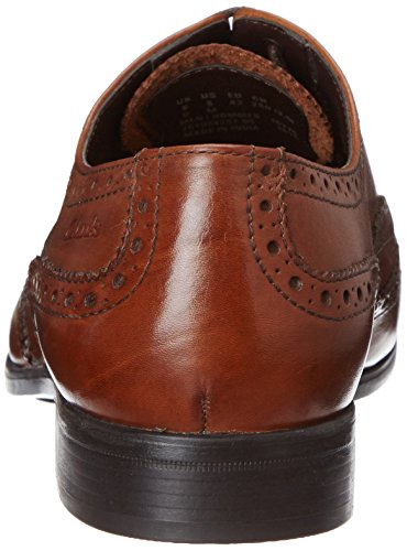 ClarksBanfield Limit - Scarpe Stringate Uomo Marrone (Tan Leather)