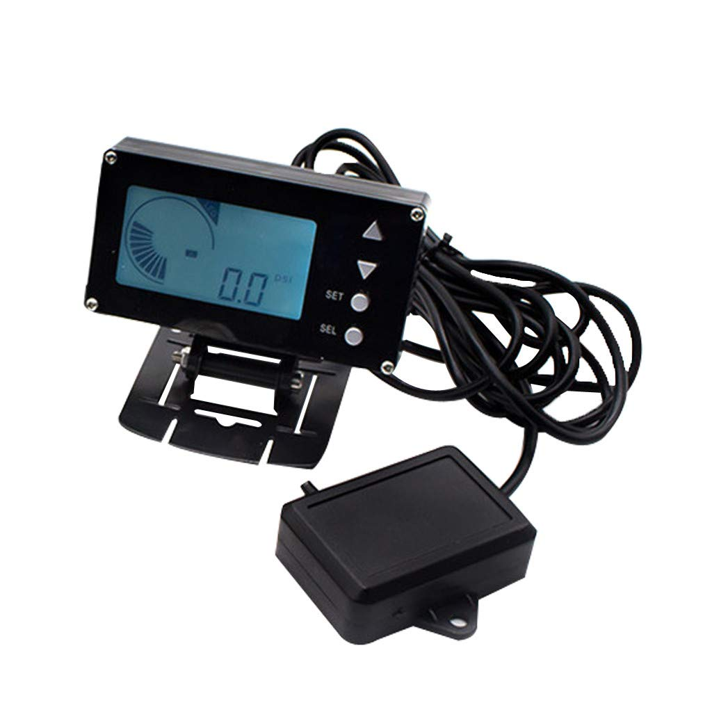 Car Accessories, SMOXX Universal Car Modified Supercharged Display Black EVC Turbocharged Controller