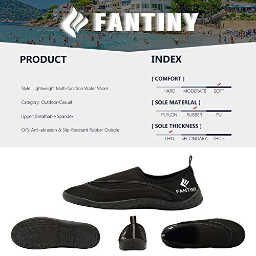 Surf CIOR 4black Quick Women Aqua Water Men Beach Sports Drying Swim Pool Shoes Boating Shoes UOqr6Upw