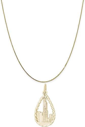 Bonyak Jewelry 18 Inch Rhodium Plated Necklace w// 6mm Light Purple February Birth Month Stone Beads and Saint Aloysius Gonzaga Charm