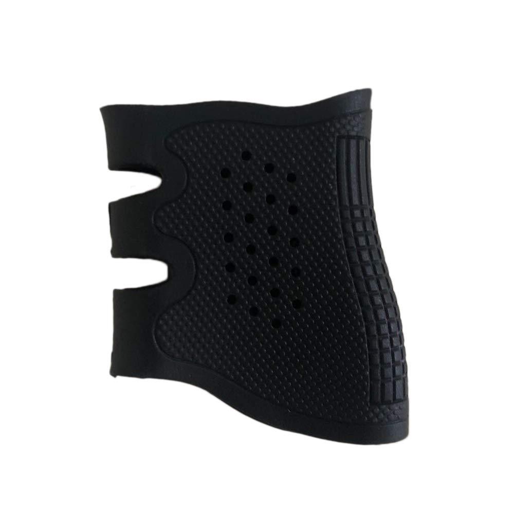VORCOOL Universal Tactical Rubber Grip Glove Manga de Goma Antideslizante Pistola de Pistola Agarre Fácil de Instalar Slip-on (Negro)