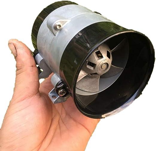 WYY Turbocompresor Ventilador Violento, Turbina 12V Ventilador Violencia Automotive con Turbocompresor, De Alta ...