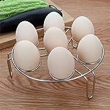 Electric Pressure Cooker Steam Rack,Egg Vegetable Steam Rack Stand Basket Set,Egg Cooker Eggassist By Chuanyue(1-Pack)