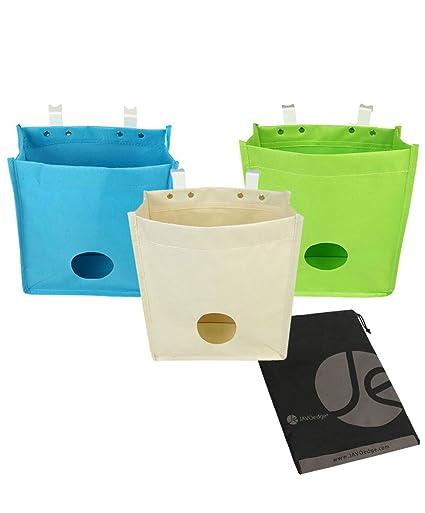 Amazon Javoedge 3 Pack Plastic Bag Holder And Dispenser