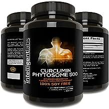 500MG Meriva Curcumin Phytosome, 2900% Better Absorbed Than Ordinary Turmeric Curcumin 100% Soy Free, 120 Capsules Per Bottle, Tumeric Curcumin Phytosome Complex
