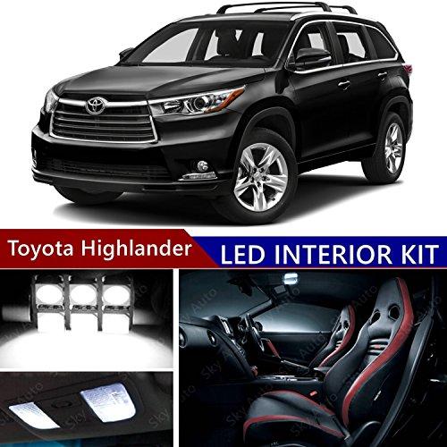 toyota highlander interior lights - 8
