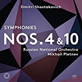 Symphonies 4  and  10