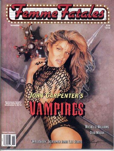 Femme Fatales Magazine VAMPIRES Halloween H20 Kara Styler ANITA HART Sexy Debi Mazar SEXY PIN-UPS November 1998 C -