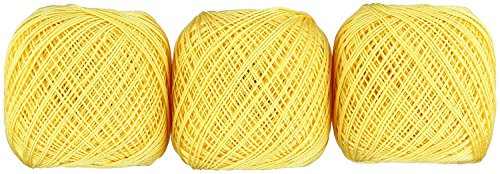 Lace thread GOLD SPECIAL 40 (monochrome) 50 g ballads 3 balls 521 by Olempus made cord