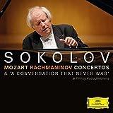 Classical Music : Mozart/ Rachmaninov: Concertos/ A Conversation that Never Was [CD/DVD]