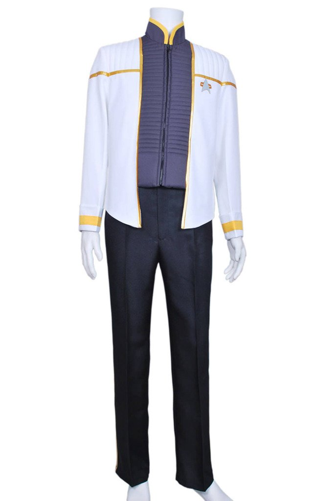 CosplayNow Star Trek Insurrection Nemesis Cosplay Costume Grey Custom Made