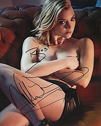 Natalie Dormer REAL hand SIGNED 8x10 Photo #2 Game of Thrones w/COA Autographed
