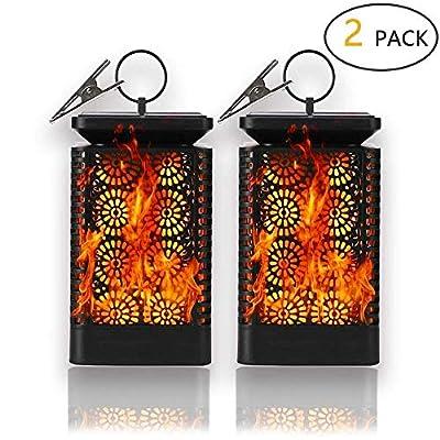 TEALP Solar Flame Lights Outdoor
