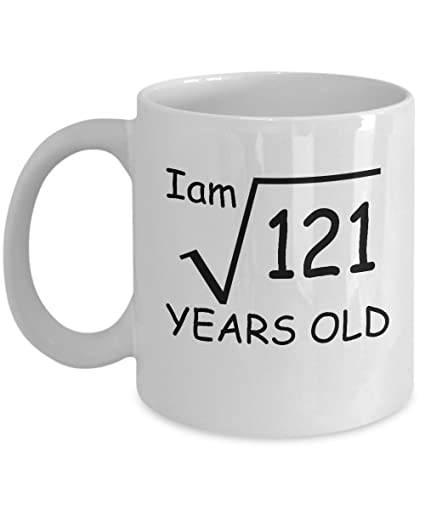 Image Unavailable Not Available For Color 11 Year Old Square Root 121 Shirt 11th Birthday Gift Ideas Boy