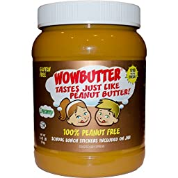 Wowbutter Creamy 2x4.4lb Jars