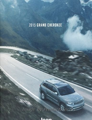 - 2015 Jeep Grand Cherokee 40-page Original Car Sales Brochure Catalog - SRT8 Summit Overland Limited Laredo Deluxe Guide