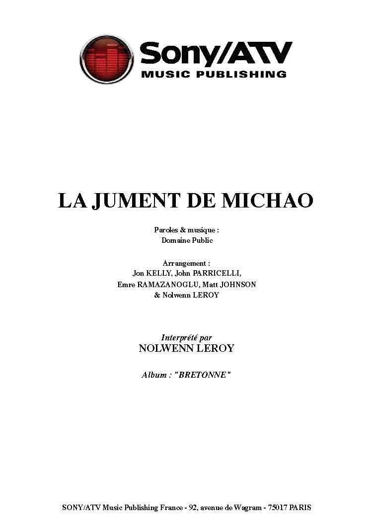 Amazon Fr La Jument De Michao Leroy Nolwenn Livres