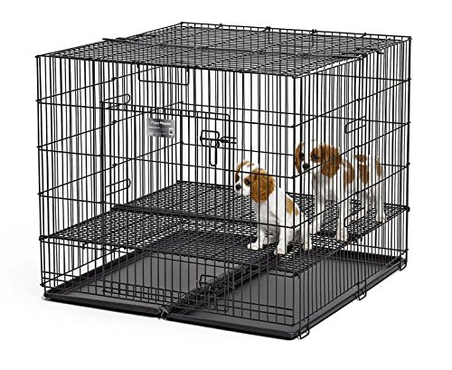 MidWest Puppy Playpen with 1 Inch Mesh Floor Grid, 36