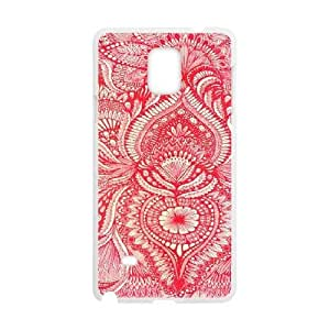 Red CUSTOM Cover Case for Samsung Galaxy Note 4 LMc-74714 at LaiMc