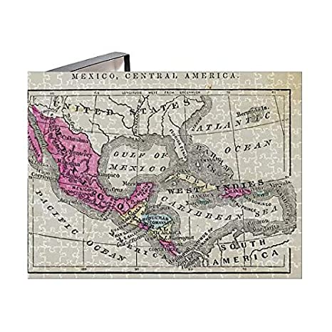Amazon.com: 252 Piece Puzzle of Map of Mexico and Central America ...