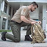 CARWORNIC Men's Outdoor Tactical Pants Rip-Stop