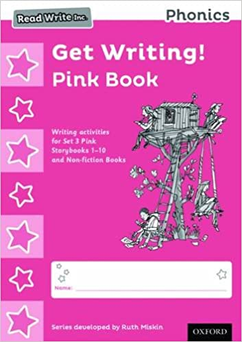 Read Write Inc. Phonics: Get Writing! Pink Book Pack of 10